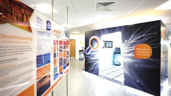 EDF Energy Hartlepool Power Station Visitor Centre