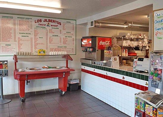 Clifton, CO: Menu, salsa bar and order area