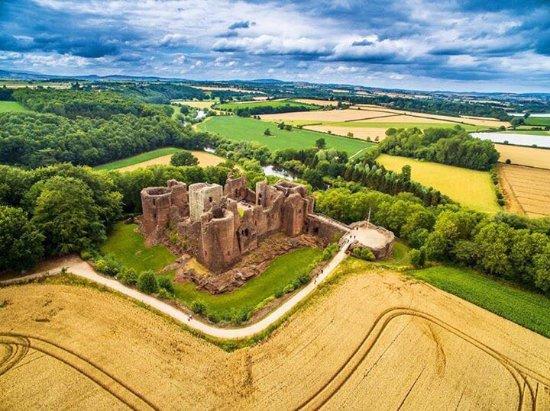 Flanesford Priory: Goodrich Castle