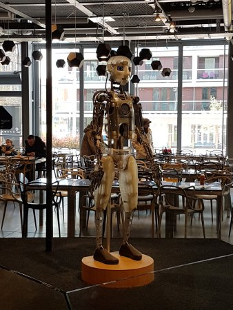 Centrum Nauki Kopernik: Robot