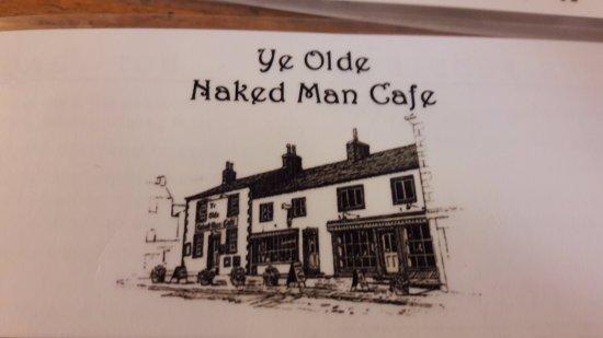 Ye Olde Naked Man Cafe: The Menu