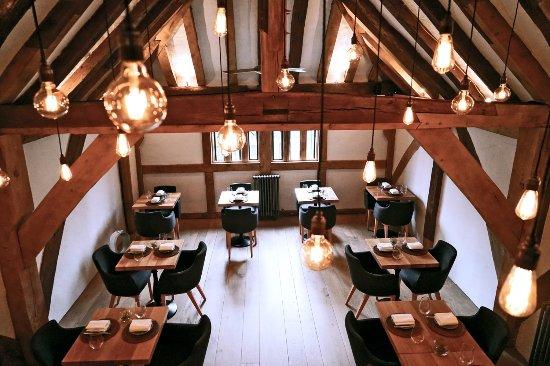 Interior at Restaurant Tristan.