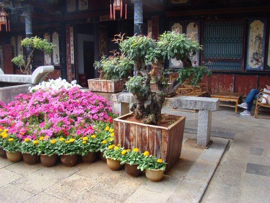 Jianshui County, China: Jardins 1