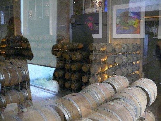 Agrelo, Argentina: sala de barricas