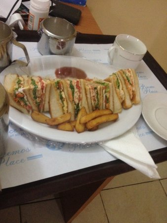 best club sandwich in Warri..compliments to the chef