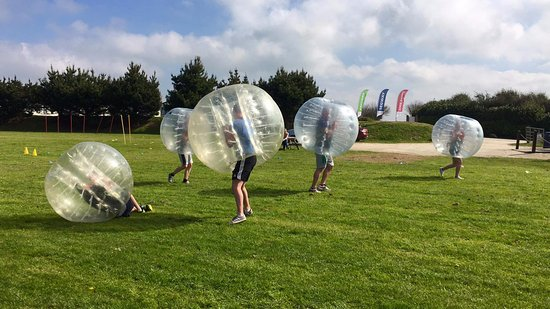 Νιούκι, UK: Zorbing at Stay Active Adventures