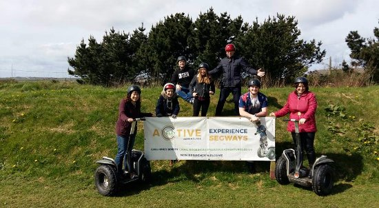Newquay, UK: Segway is great for all the family!
