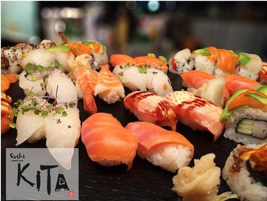 Sushi KITA : Assorted sushi platter