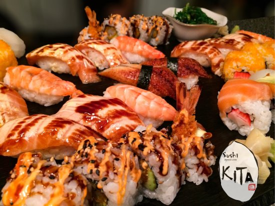 Sushi KITA: Assorted sushi platter