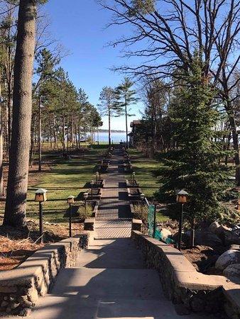 Nisswa, MN: View from main lodge
