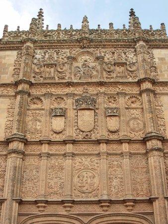 Universidad de Salamanca: fachada