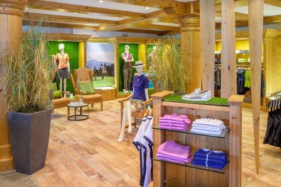 Ofterschwang, Allemagne : Golfplatz Oberallgäu - Pro Shop