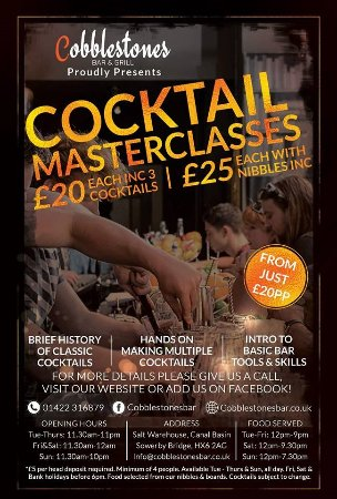 Sowerby Bridge, UK: Masterclass **Bookings only**