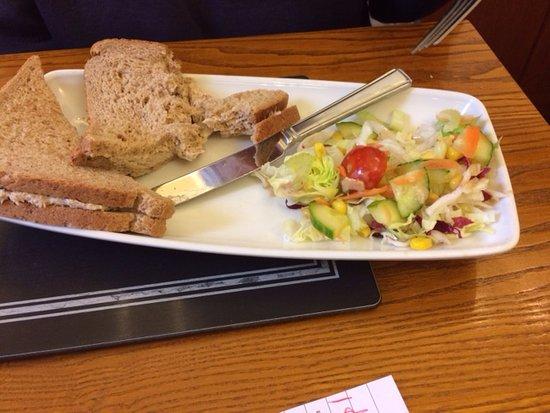 Bryson's Tea Room & Craft Bakery: tuna sandwich