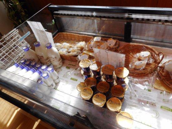 Kyotango, Japan: 乳製品販売