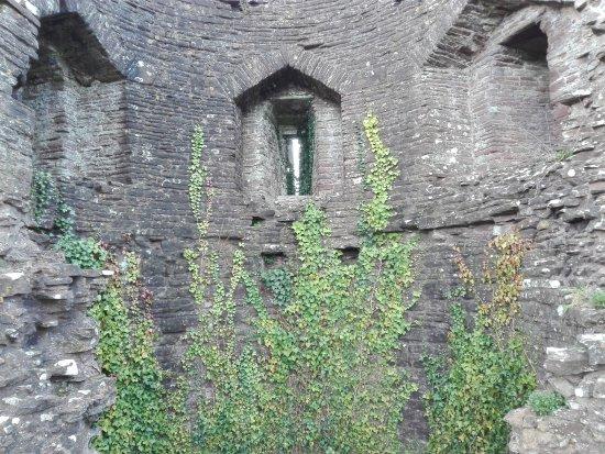 Abergavenny, UK: inside the White Castle