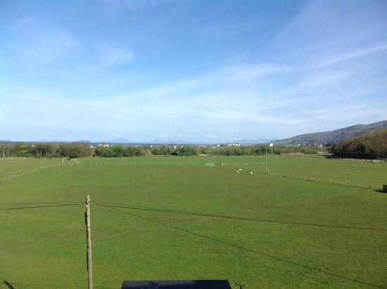 Fairbourne, UK: View from bedroom