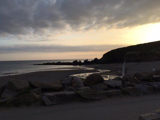 Bigbury-on-Sea, UK: beach