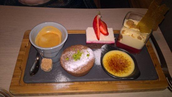 Remiremont, France: Le café gourmand