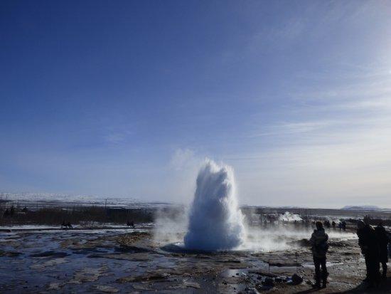Selfoss, Islândia: Geyser