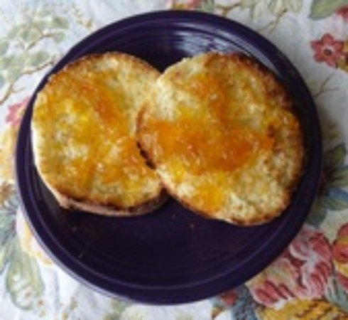 Brattleboro, VT: Conrad's gorgeous homemade English Muffins