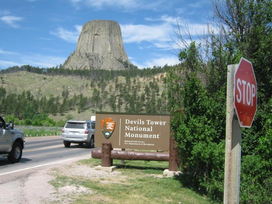 Devils Tower Foto