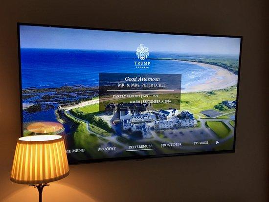 Doonbeg, Irlandia: Personalized tv greeting