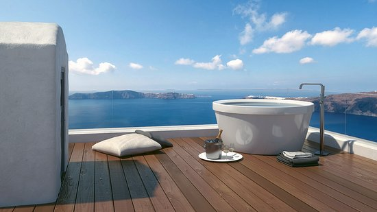 Mythical Blue Santorini