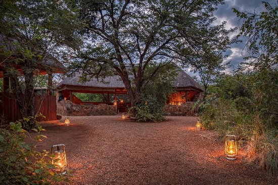 Madikwe Game Reserve, South Africa: The lapa