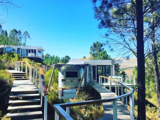 Overberg District, Südafrika: Walk to our room