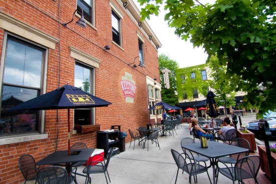 Covington, KY: Outdoor seating