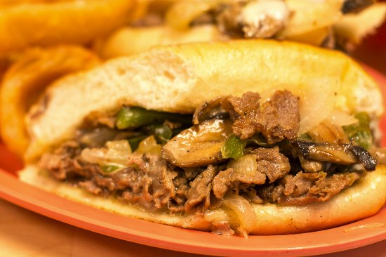Little River, SC: Philly Cheese Steak - Southern Style