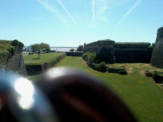 Blaye, Fransa: Au loin l'Estuaire