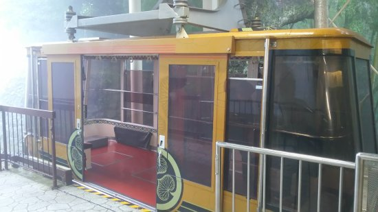 Nihondaira Ropeway: 纜車的外觀