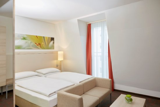 H+ Hotel Munchen: Moderne Zimmer Im H+ Hotel München City Centre