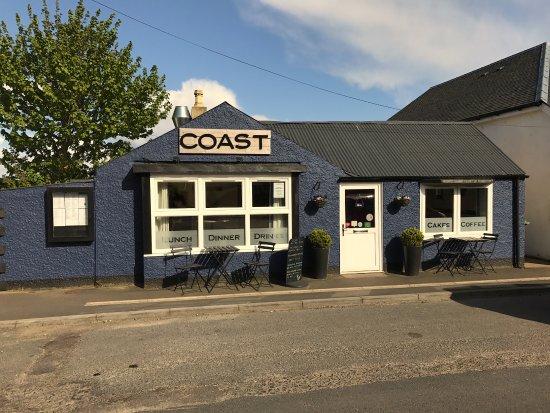 Whiting Bay, UK: 4pm Sea Blue