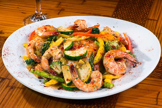 Wilmington Island, GA: Thai Grilled Shrimp