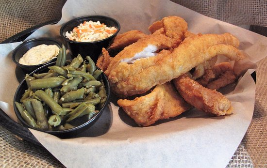 Farmville, VA: Fish Basket - Fried Alaskan Pollock