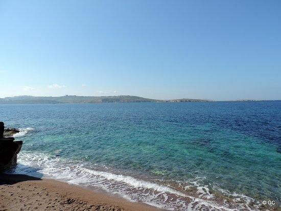 Bugibba, Μάλτα: Un morceau de sable à Buggiba !