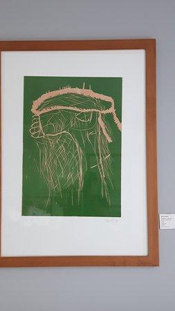 art'otel berlin mitte: Original Kunstwerk von Georg Baselitz in den Zimmern
