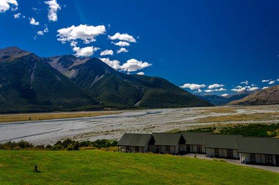 Национальный парк Артурс-Пасс, Новая Зеландия: Hotel;s location..