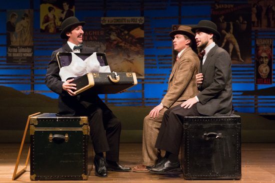 Bristol, PA: Dan Hodge, Matt Leisy, and Adam Sowers (The 39 Steps, 2014-15 Season)