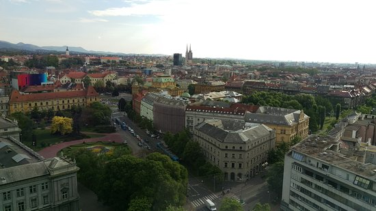 The Westin Zagreb: Rooms with a wieu