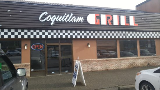 Coquitlam, كندا: New Signage for The Coquiltam Grill!