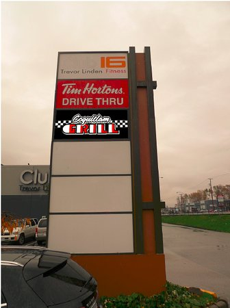 Coquitlam, Canadá: New Signage for The Coquiltam Grill!