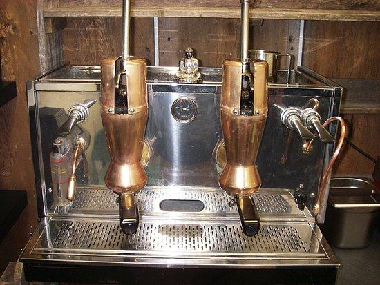 Fleischmanns, NY: Espresso Machine
