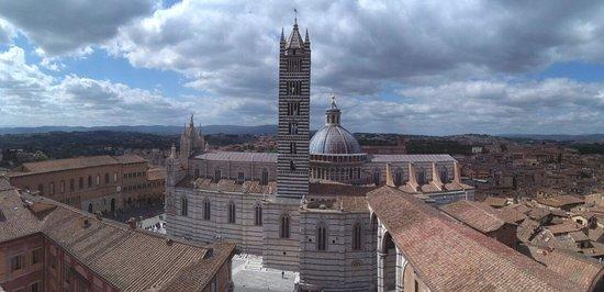 Siena, Włochy: Vista dal Facciatone