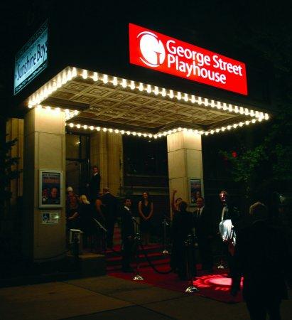 New Brunswick, NJ: Marquee at opening night