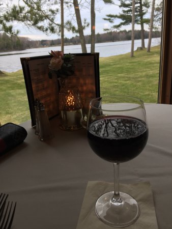 Marinette, WI: I was solo this trip but had a wonderful relaxing dinner.