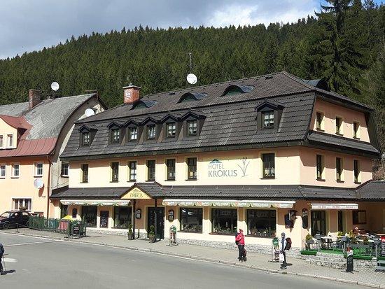 Pec pod Snezkou, Czech Republic: Hotel Krokus - pohled z venku